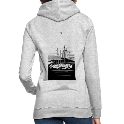 Revenge Capitalism (on white) - Women's Hoodie