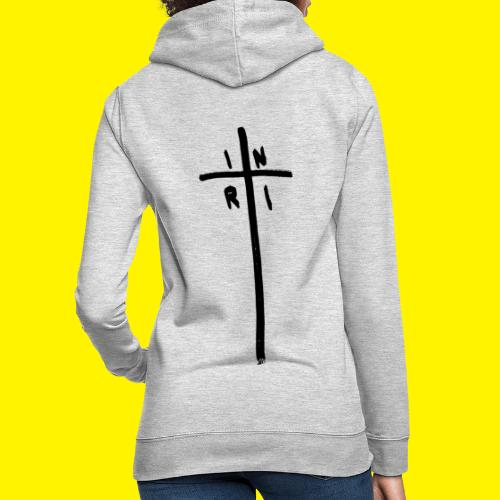 Cross - INRI (Jesus of Nazareth King of Jews) - Women's Hoodie