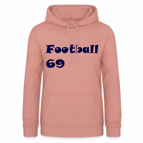 Fußball Football 69 outdoor T-shirt blue - Frauen Hoodie