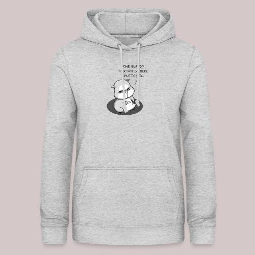 drunk_Hamster - Felpa con cappuccio da donna