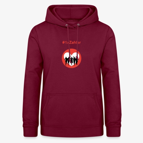 1xzahler Rot - Frauen Hoodie
