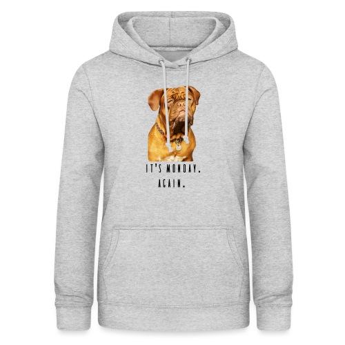 bulldog monday - Dame hoodie