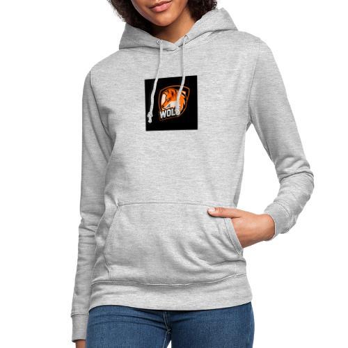 Serecchia Wolf - Felpa con cappuccio da donna
