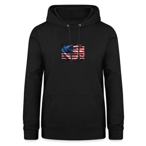 amerikaanse vlag - Vrouwen hoodie