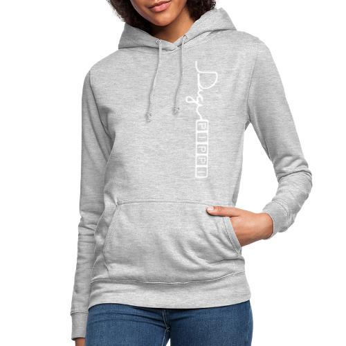 DP Logo White - Dame hoodie