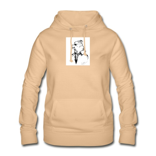 InkedThe Dog style bak LI - Sudadera con capucha para mujer