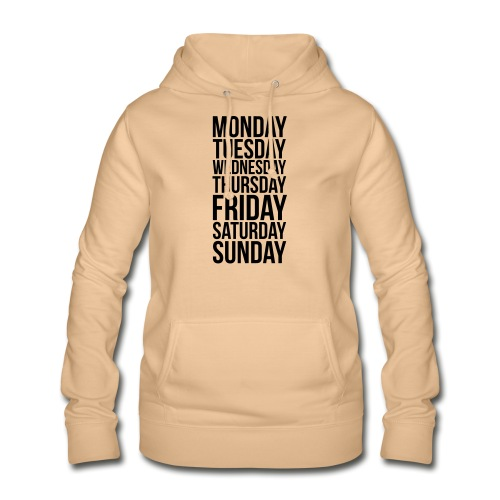 Days of the Week - Women's Hoodie