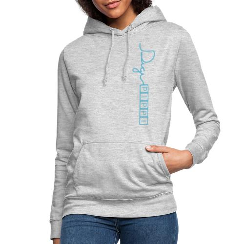 DP Logo Blue - Dame hoodie