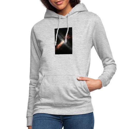 agujero negro - Sudadera con capucha para mujer