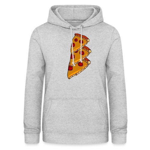 pizza - Dame hoodie