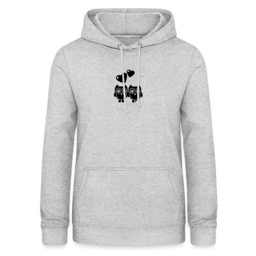 verliebte Eulen - Frauen Hoodie