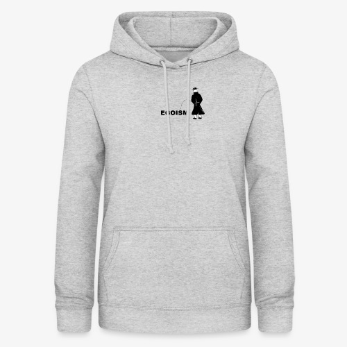 Pissing Man against Egoism - Frauen Hoodie