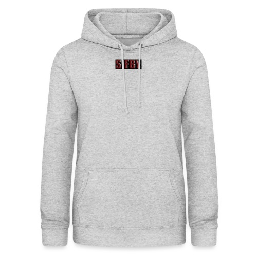 SiFBY - Sudadera con capucha para mujer