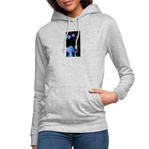 amar universo - Sudadera con capucha para mujer