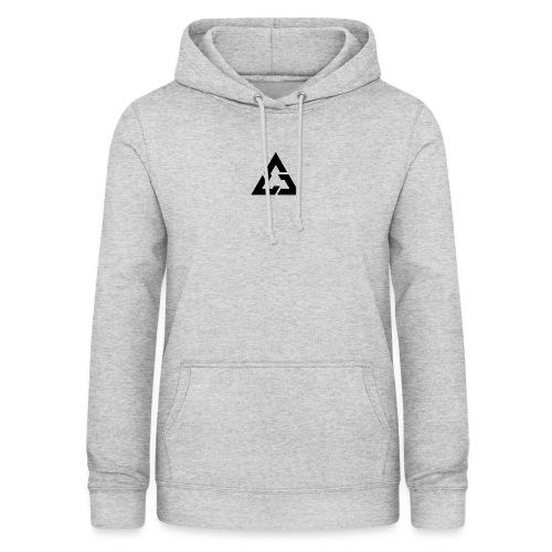 Angle Logo Brand - Felpa con cappuccio da donna