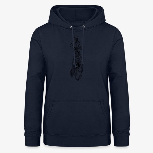 Old style bycicle - Vrouwen hoodie