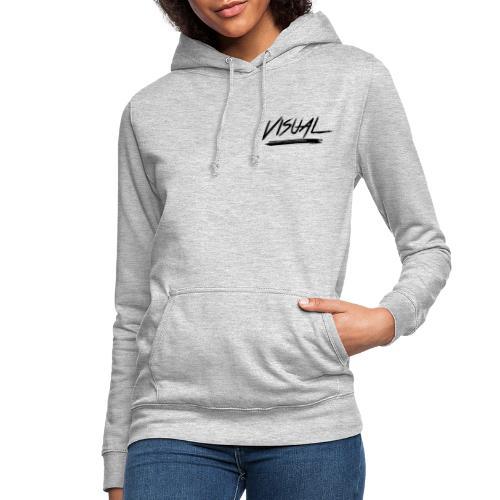VISUAL Black Logo - Women's Hoodie