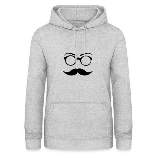 Schnurrbart - Frauen Hoodie