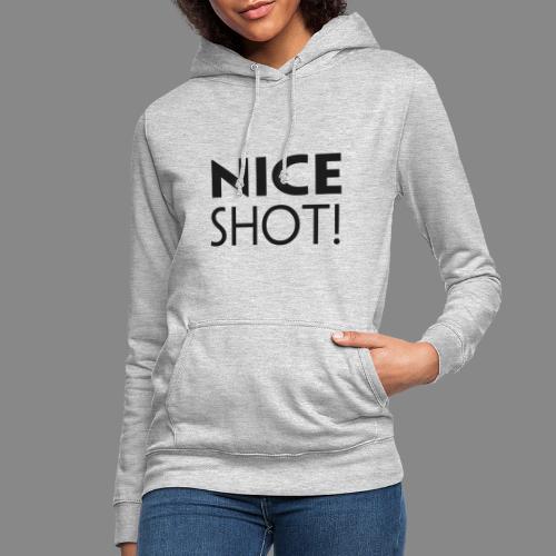 Nice Shot - Dame hoodie