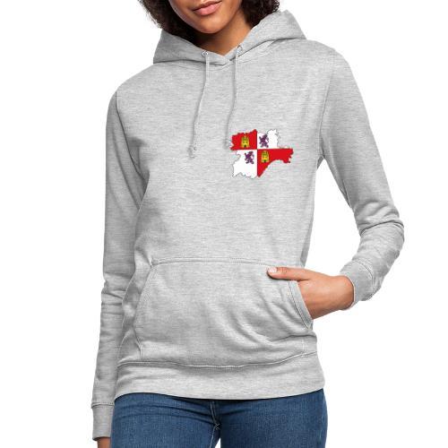 Logo Castellano leonés - Sudadera con capucha para mujer