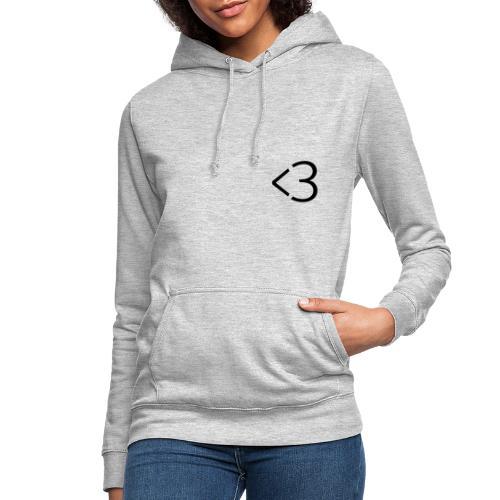 <3 - Dame hoodie
