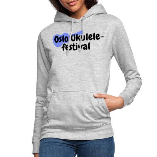 Oslo Ukulelefestival - Hettegenser for kvinner