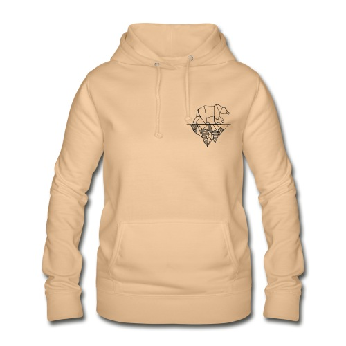 Bear and Mountain - Frauen Hoodie