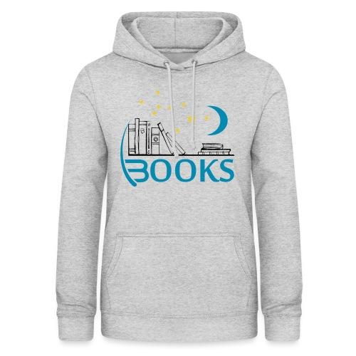 Books_Blue - Women's Hoodie