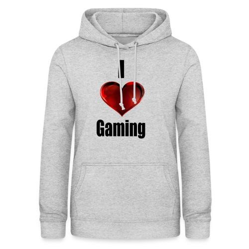 i love gaming - Frauen Hoodie