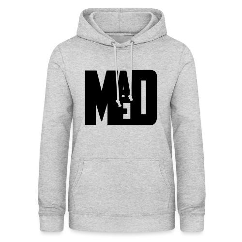 Maddem logo (Black) - Women's Hoodie