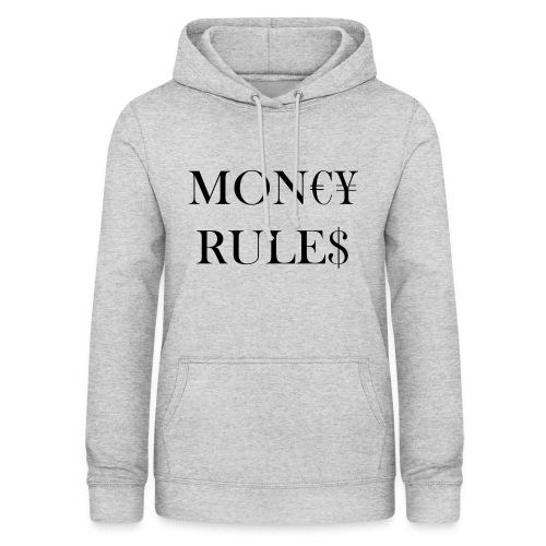 Money Rules - Sweat à capuche Femme