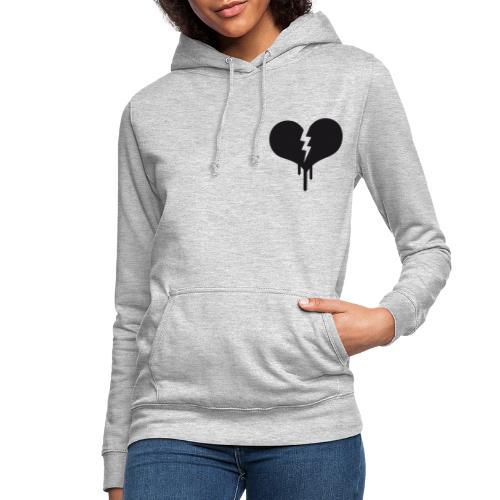 Corazón Roto - Sudadera con capucha para mujer
