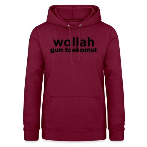 Wollah Gun Toekomst - Vrouwen hoodie