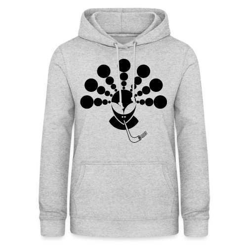 The Smoking Alien Black - Women's Hoodie