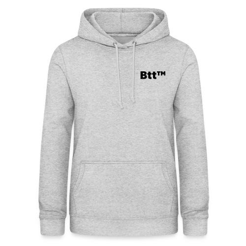 Btt™ Black logo - Felpa con cappuccio da donna