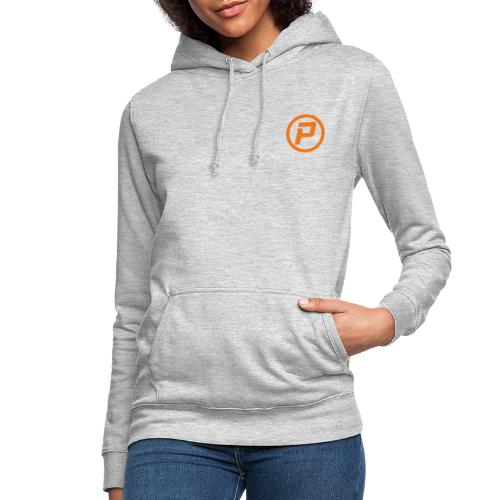 Polaroidz - Small Logo Crest | Orange - Women's Hoodie