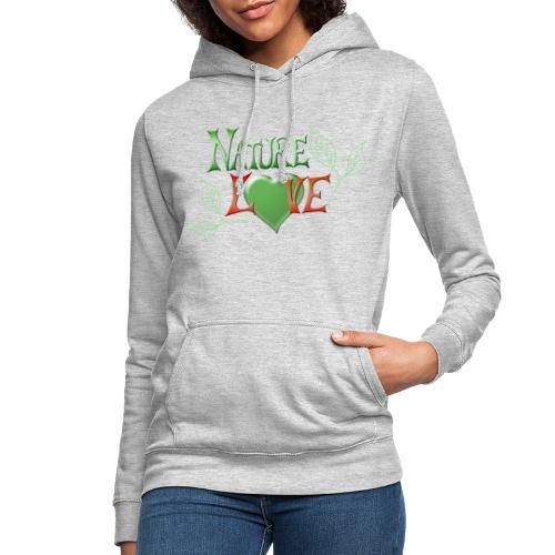 Nature Love - Frauen Hoodie