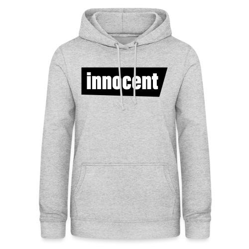 Innocent Black-Edition - Frauen Hoodie