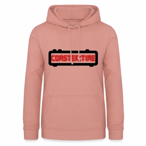 Coaster Time Schwarz - ParkTube - Frauen Hoodie