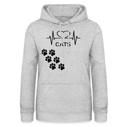 Design für Katzenbesitzer. - Frauen Hoodie