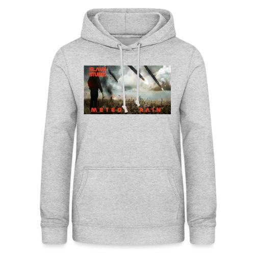 Meteor rain - Felpa con cappuccio da donna
