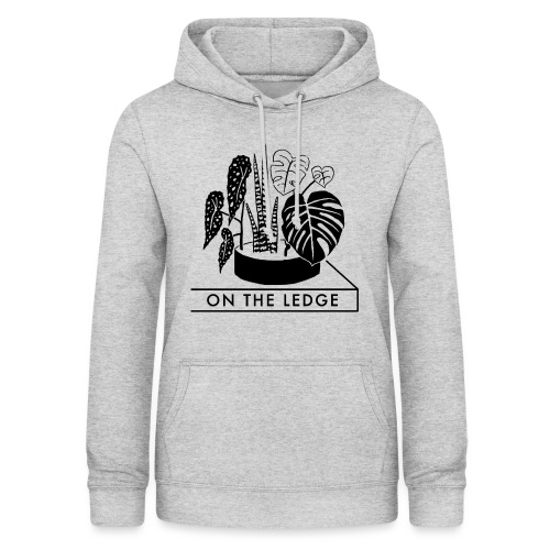 On The Ledge black and white logo - Women's Hoodie