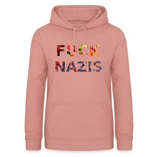 Fuck Nazis with Fruits - Frauen Hoodie