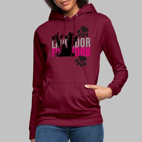 Labrador Kopf Pfoten - Frauen Hoodie