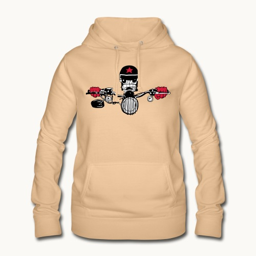 Motard Micky on the Road - Sweat à capuche Femme