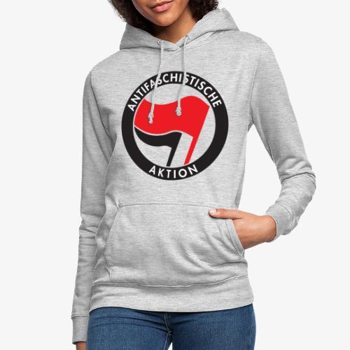 Atnifaschistische Action - Antifa Logo - Women's Hoodie
