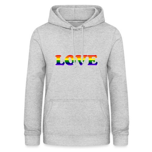 LOVE Rainbow #1 - Frauen Hoodie