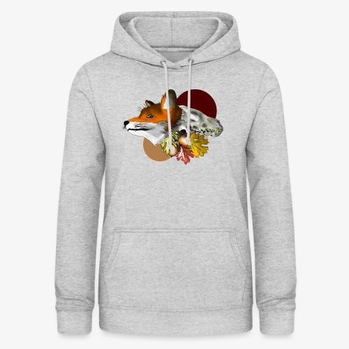 Autumn Foxey - Felpa con cappuccio da donna