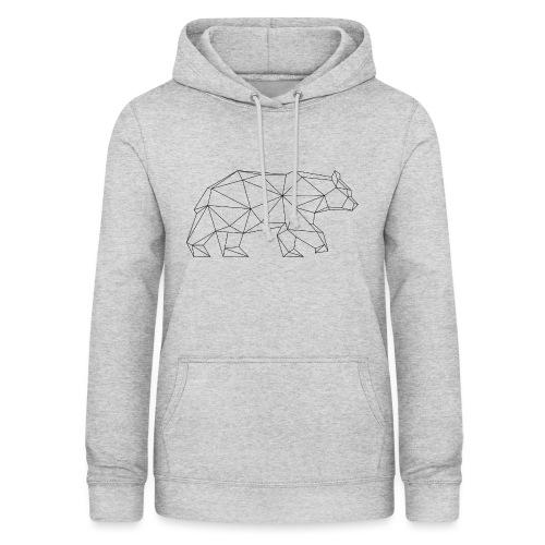 Bär Triangel-Design - Frauen Hoodie