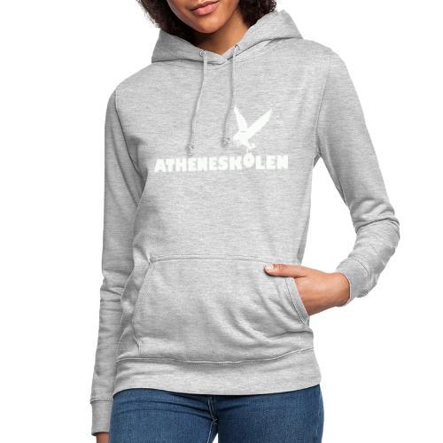 Hvidt logo - Dame hoodie